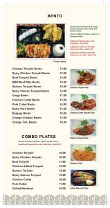 bento & plate
